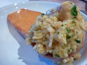 Garlic & Artichoke Risotto with Roasted Butternut Squash