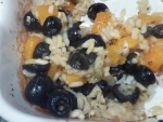 Squash & Olive Baked Risotto