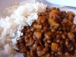 Hearty French Lentils