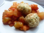 Veg Stew with Dumplings