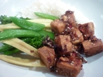 hot chilli pepper tofu