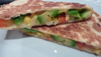 Fresh Veg Quesadillas