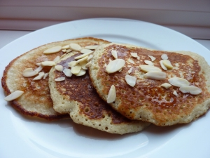Pear & Almond Pancakes