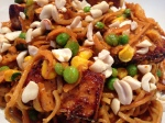 Peanut Tofu Noodles