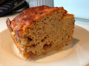 Banana & Apple Bread