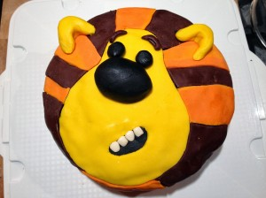 Raa Raa Birthday cake