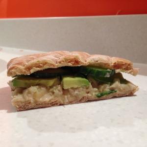 White Bean & Avocado Sandwich