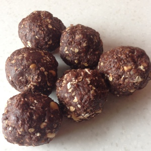 chocolate enery balls