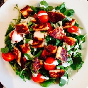 Halloumi Salad