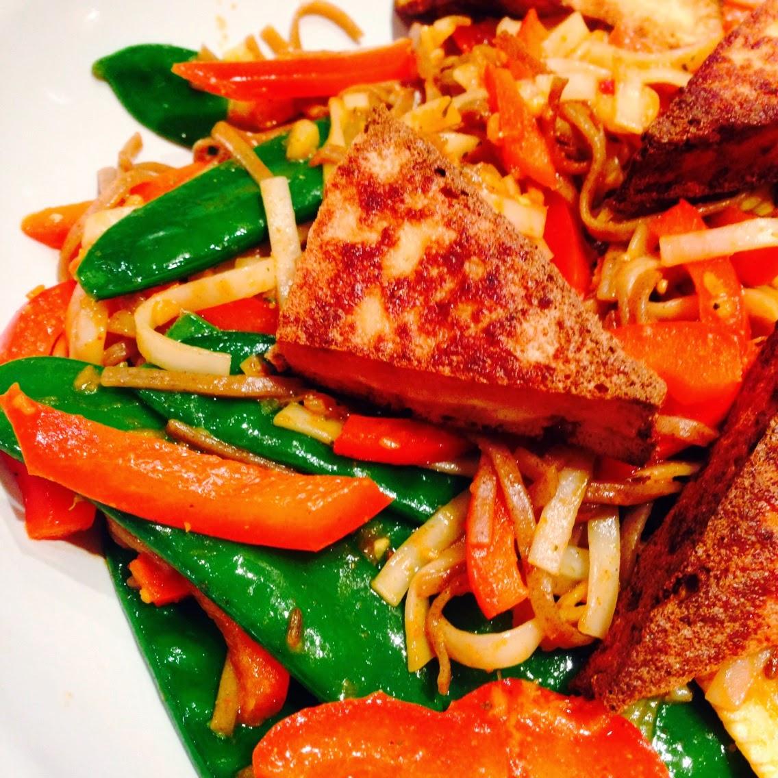 Singapore Noodles withTofu